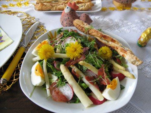 Frühlingssalat mit Sauerampfer
