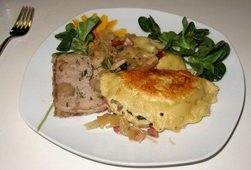 Gebratene Sauerkraut-Maultaschen